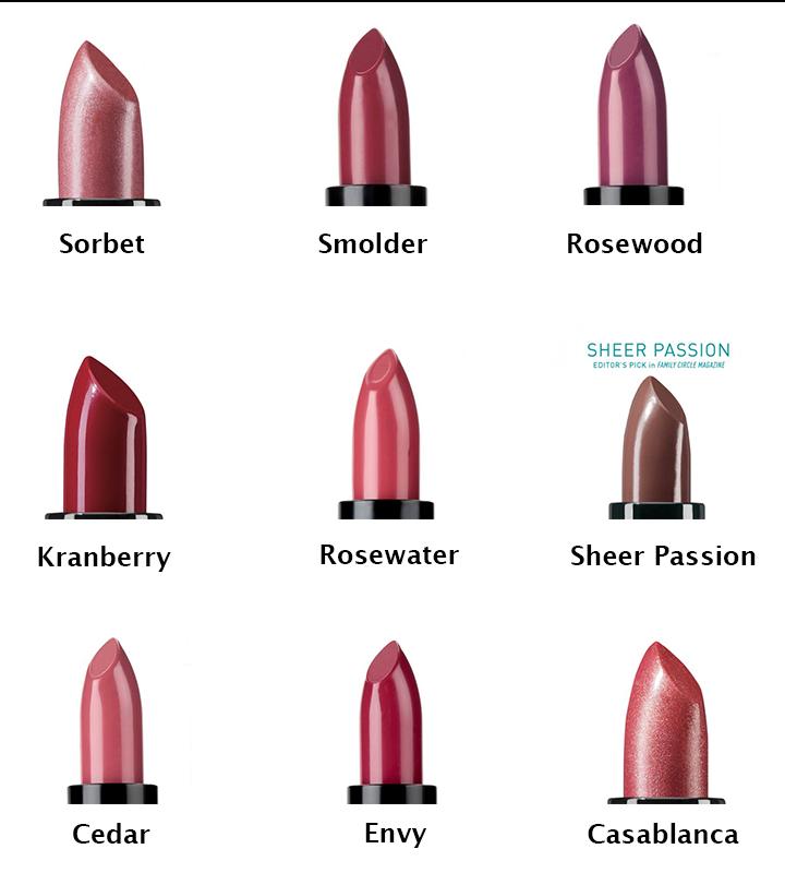 Lipsticks colors1